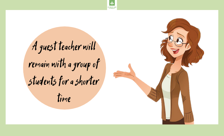 Guest Teachers Are no Less Importan Than Permanent Ones