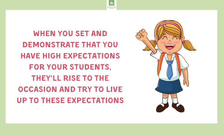 Always Let Students Know That You Think They Can Be Successful