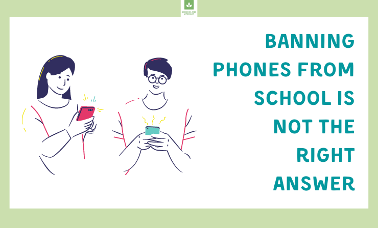 However, We Also Just Can Let Our Students Have Their Phones Out to Play Games or Post on Social Media