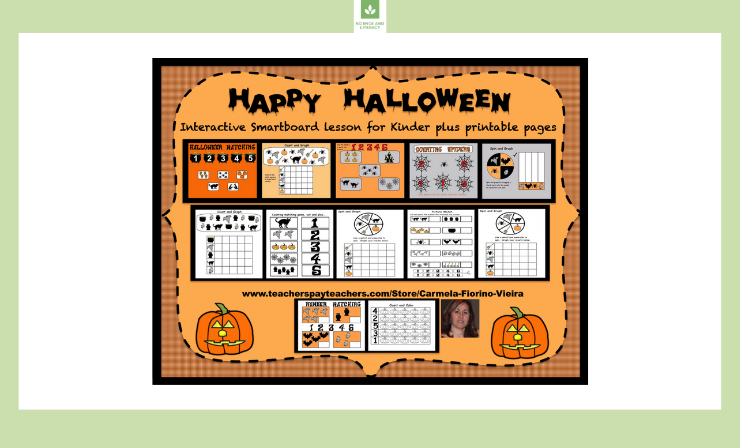 Halloween Counting for Kinders