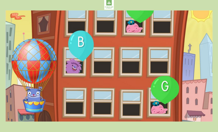 Early Readers Get Practice Recognizing Letters B, E, and G in This Fast-Paced Alphabet Balloon Pop Game