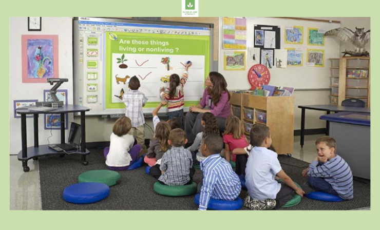 An interactive Whiteboard Makes It Easier to Find Real-World Examples for Your Students